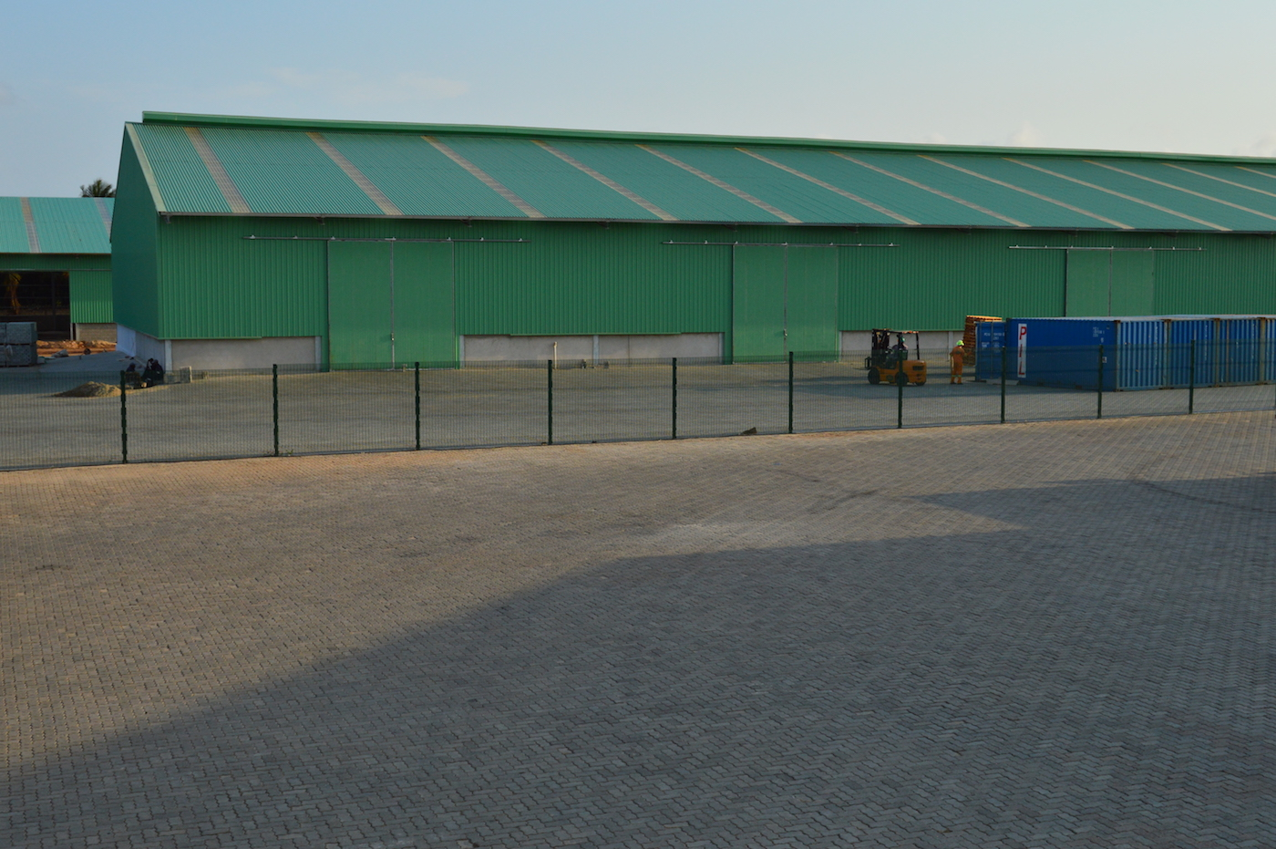 Transit warehouse, 2160 sq.meters